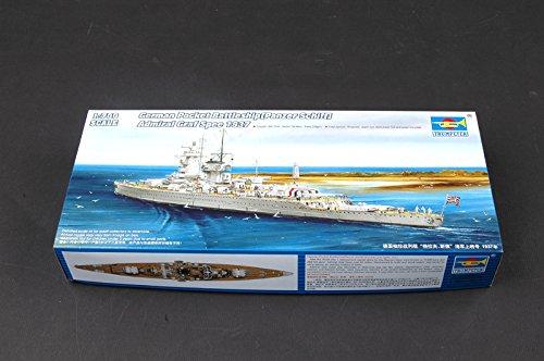 Trumpeter 05773 Modellbausatz Ger. Battleship Admiral Graf Spee 1937