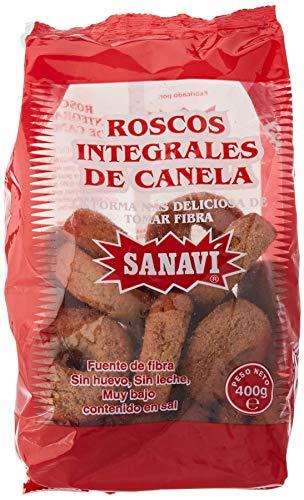 ROSCOS INTEGRALES CANELA 400gr