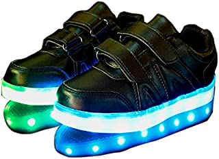 TEC VENTURES Rechargeable LED Light Party Shoes