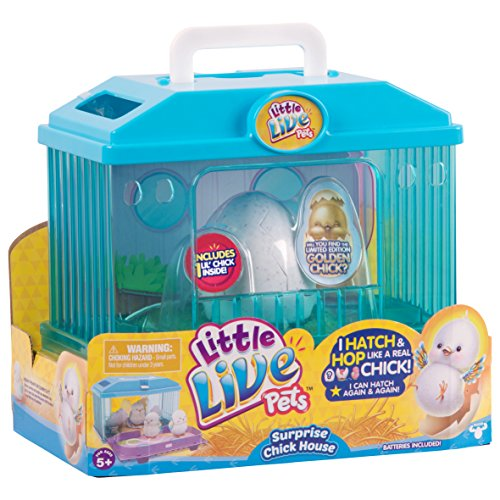 Little Live Pets 28325Sorpresa Pollito casa Juguete