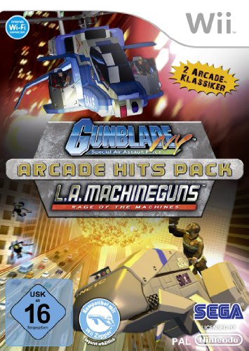 Arcade Hits Pack: Gunblade NY & L.A. Machineguns [Edizione: Germania]