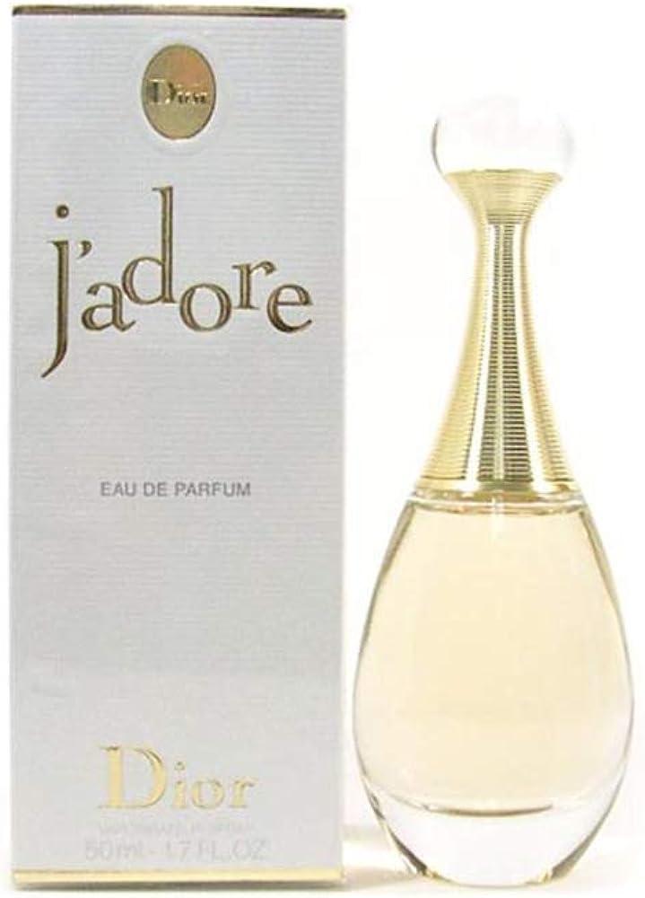 J`adore di dior - eau de parfum da donna spray 50 ml 3348900417885