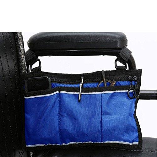 Sicherer Rollstuhl Pouch Bag Tasche für–Mobilität Hilfe Zubehör Tasche für ältere Menschen, Senioren, Behinderte–Hände frei Tote Caddy hzc139