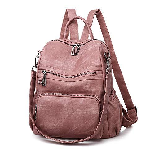 Damen Fashion Rucksack, mehrere Taschen, Anti-Diebstahl, Tagesrucksack, Umhängetasche, Handtasche
