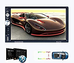 Car Stereo LSLYA 7 Inch Android 8.1 HD, Double Din, Multimedia Radio, GPS Navigation,Bluetooth, WiFi, Mirror Link, Support...
