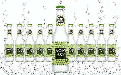 Noki & Co. Original Irish Alcohol Free Gin & Tonic flavoured drink. 12x275ml - Made using natural botanical flavours including Juniper and other carefully chosen natural botanicals #NokiLife