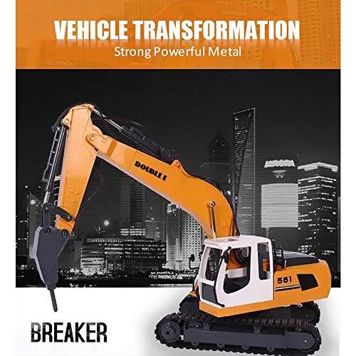 RC Auto kaufen Baufahrzeug Bild 2: KEISL 3-in-1 Ingenieurmaschinen-Auto, RC Bagger, Fernbedienung, Traktor, Spielzeug, Baufahrzeuge*