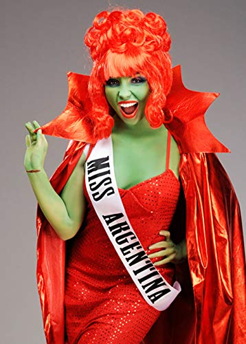 Magic Box Sable Beetlejuice Estilo Miss Argentina Sash