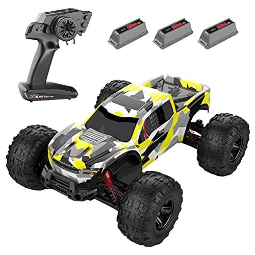 GoolRC RC Auto 2.4GHz Fuoristrada Ad Alta velocità 48km/h 1/10 Auto da Corsa 4WD Telecomando Camion RTR