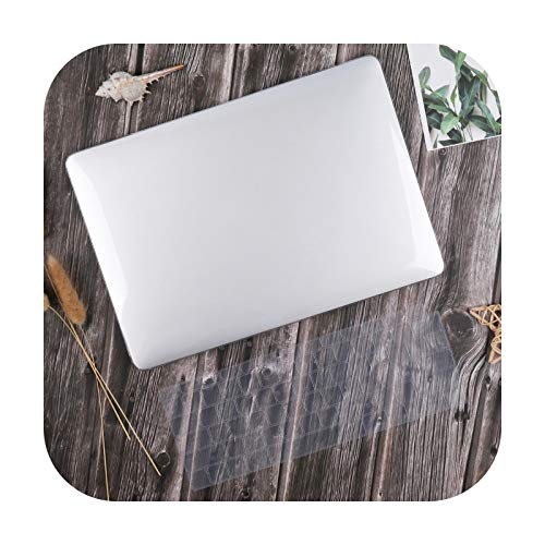 For Macbook Air 13 Inch Case 2020 M1 A2337 A2179 Crystal Smooth Plastic Hard Cover For Mac Book Pro 13-Inch A2338 A2251 A2289-Clear-Pro 13 Inch A1708