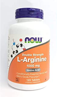 Now Foods L-Arginine 1000mg - 120 Tabs