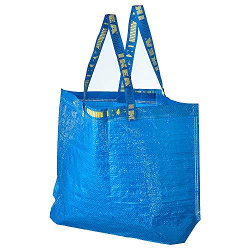 IKEA FRAKTA Tragetaschen in blau; (36l); 10 Stück