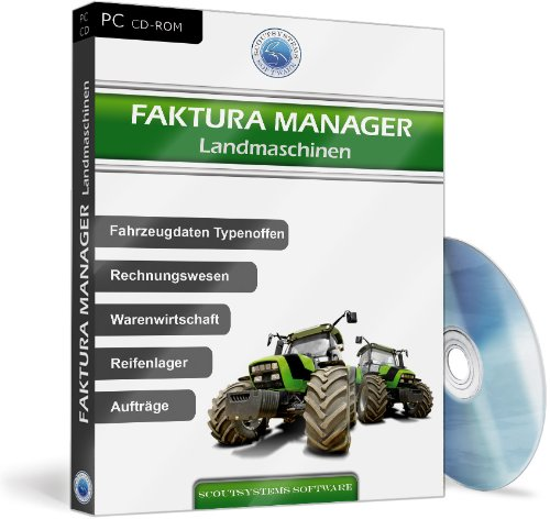 Faktura Manager Landmaschinen - Die Software für Werkstatt, Reifenlager, Verwaltung