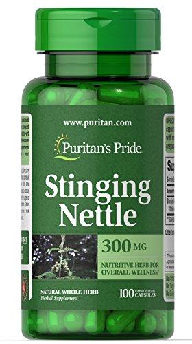 Puritan's Pride Stinging Nettle 300 mg-100 Capsules