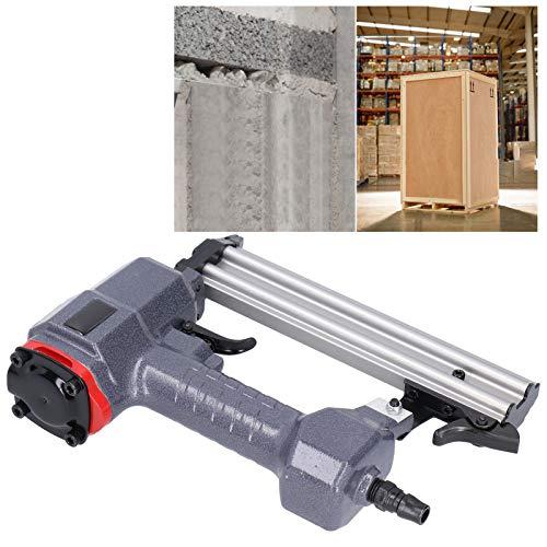 Clavadora neumática, pistola de grapas de clavos F, clavadora de aire, multifuncional, 0,4-0,5 Mpa, ergonómica para tapicería, mejoras para el hogar, carpintería, carpintería