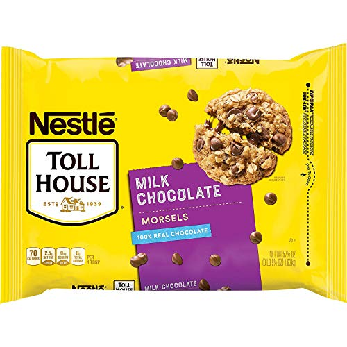 NESTLE -NESTLE TOLL HOUSE Milk Chocolate Morsels BULK (2 PACK, 115 oz Total )