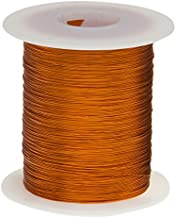 Remington Industries 26H200P.5 26 AWG Magnet Wire, Enameled Copper Wire, 200 Degree, 8 oz, 0.0176