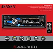 Jensen VX3022 A/V Receiver with DVD, 6.2-Inch Touch Screen with Bluetooth