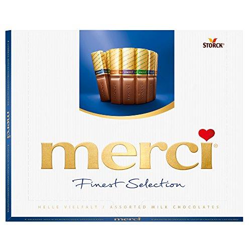 merci Finest Selection Helle Vielfalt (1 x 250g) / Schokoladen-Spezialitäten