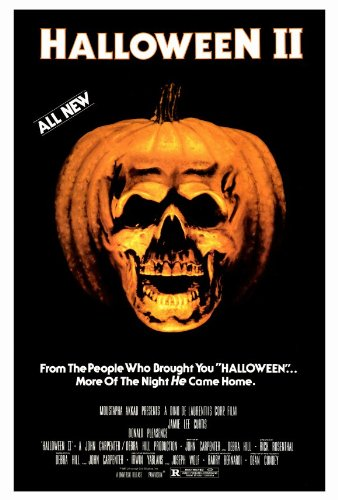 Halloween 2: The Nightmare Isn't Over! Movie Poster (27 x 40 Inches - 69cm x 102cm) (1981) -(Jamie Lee Curtis)(Donald Pleasence)(Jeffrey Kramer)(Charles Cyphers)(Lance Guest)