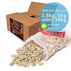 Panorama24 10 kg Kamin-Anzünder und Grill-Anzünder (Ofen-anzünder, Anzündwolle, Anzündhilfe) aus Bio Holz-Wolle und Wachs - schnell und umweltfreundlich