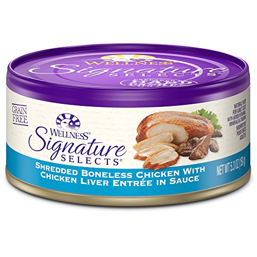 Wellness Signature Selects Natural Canned Grain Free Wet Cat Food