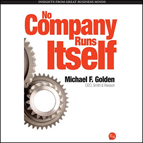 No Company Runs Itself audiobook cover art