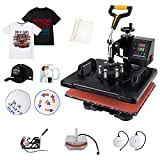 Slendor Heat Press 5 in 1 Heat Press 12x15 inch...