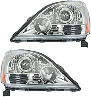 Headlight Headlamp LH and RH Pair Set for 2 for 03-09...