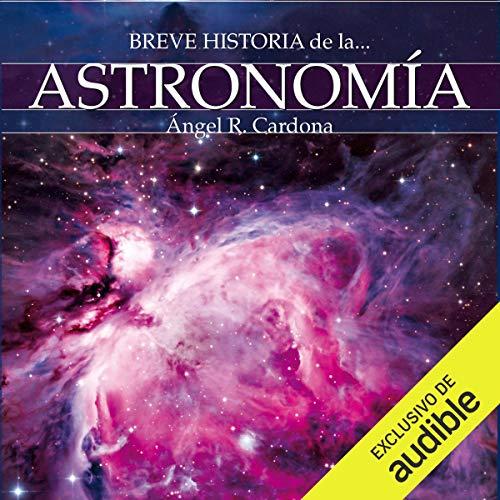 Diseño de la portada del título Breve historia de la astronomía