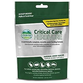 scheda oxbow critical care for herbivores - sacchetto argentato da 141 grammi