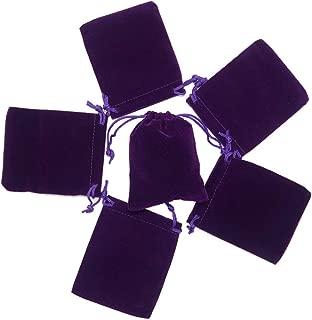 black velvet jewelry pouches