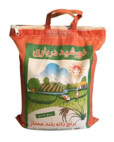 Basmati Reis Sonne Darbari Khorshid 5 Kg Extra Langkorn Reis, Basmati Rice