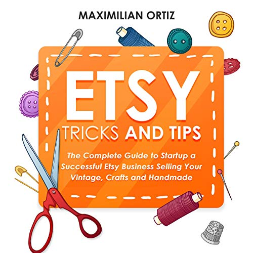 Etsy Tricks and Tips audiobook cover art