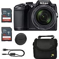Executive Prices, Classic Bundle for Nikon B500 Coolpix Camera (Black)