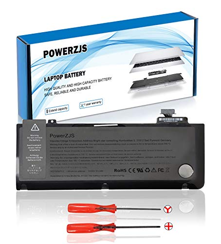 A1322 Batteria per MacBook Pro 13'A1322 (A1278 metà 2009 metà 2010 inizio 2011 fine 2011 metà 2011 2012) MB990LL / A MB990CH / A MB990J / A [10.95V 63.5Wh ]