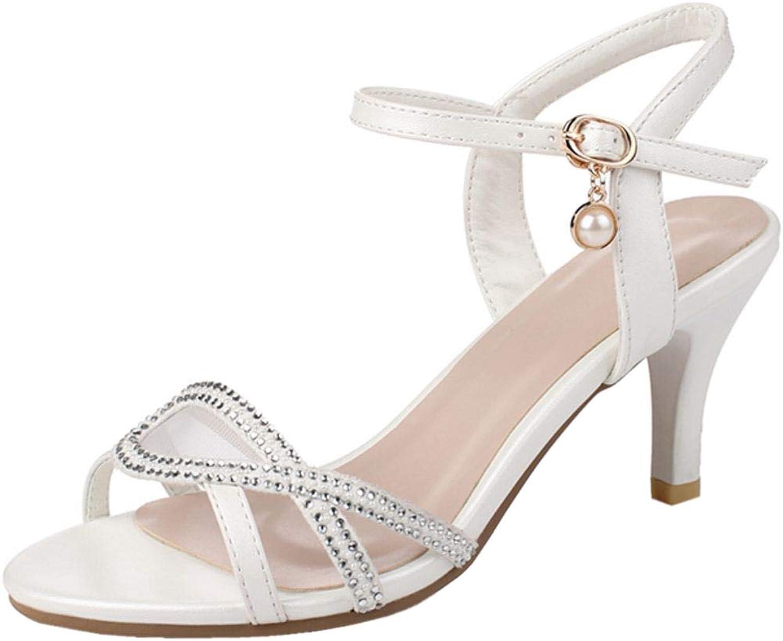 AicciAizzi Women Fashion Heels Sandals Summer shoes
