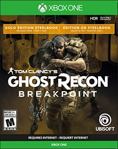 Ghost Recon Breakpoint – Steelbook Gold Edition – Xbox One