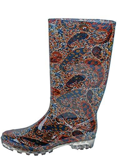 Gevavi – Boots chic05380 Chic Bottes PVC, 38, marron