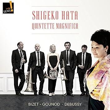 Bizet, Gounod, Debussy: Profitez de la vie ! Musique Française pour cuivres et soprano