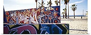 GREATBIGCANVAS Entitled Graffiti Venice Beach CA Poster Print, 48
