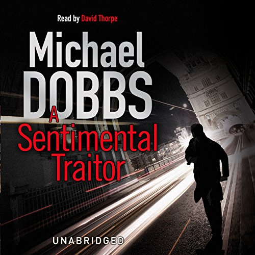 A Sentimental Traitor audiobook cover art