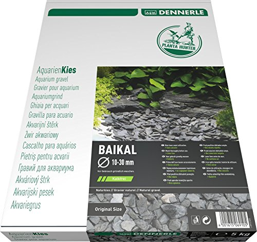Dennerle Naturkies Plantahunter Baikal 10-30 mm - Aquarienkies, Bodengrund fürs Aquarium