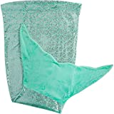 PixieCrush Mermaid Tail Blanket for Teenagers/Adults & Kids Thick,...