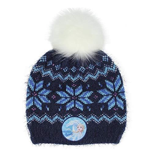 CERDÁ LIFE'S LITTLE MOMENTS 2200005908 Cappello Elsa di Frozen-Licenza Ufficiale Disney, Azul, Taglia Unica Unisex-Bambini