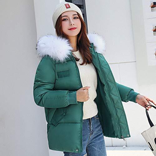 WFSDKN Down jas 2019 nieuwe Parkas Outwear Jassen Hooded Bont kraag Winter down katoenen jas Lange warme vrouwen