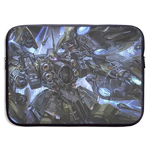 Not Applicable Notebooktas, draagbare laptophoes, laptop aktetas, laptop beschermtas, laptop tas, mobiel pak Gundam Unicorn-Kshatriya bescherming tablet-hoes, neopreen laptop mouwtas S S(13 Inch) 695