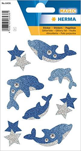HERMA 6436 Glitzer Sticker