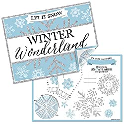 Winter Activity Placemats