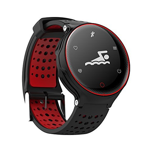 WSYGCTOB Super Smart Watch X2 Sport Gesundheit Armband Ip68 Wasserdichte Bluetooth 4.0 Version Kann Blutdruck, Blut-Sauerstoff, Dynamic-Herzfrequenz Überwachung, Laufen